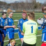 Kearsley High School Girls Varsity Soccer beat North Branch 2-1