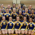Competitive Cheer earns 1st place at Flint Metro League Jamboree #1