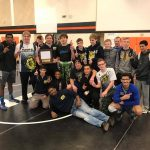 Back-to-Back!  Wrestling wins second consecutive Flint Metro League championship