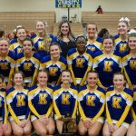 District Champs!  Kearsley wins school's first MHSAA District Cheer Championship; advances to regionals