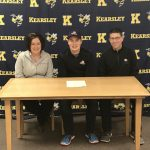 Connor Vansteenburg signs with Olivet Nazarene