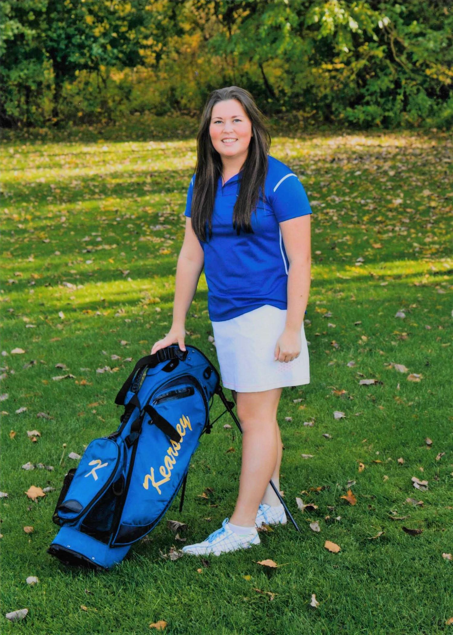 Grace Hoffman named Flint Metro League Female Scholar-Athlete of the Month