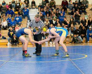Wrestling vs. Goodrich