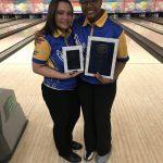 Girls Varsity Bowling finishes 1st place at Carman SIngles Tournament @ Grand Blanc Lanes