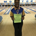 Girls Varsity Bowling finishes 1st place at S & R Singles Tournament @ Monitor Lanes