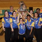 Girls Varsity Bowling finishes 1st place at State Finals- Team @ Super Bowl