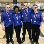 Girls Varsity Bowling finishes 1st place at Davison Mixed Doubles Tournament