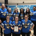 Girls Varsity Bowling finishes 1st place at Lila Furnish Baker Tournament