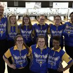 Girls Varsity Bowling beats Flushing 17 – 13 & Clinches Share of Metro Conference Title