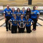 Girls Varsity Bowling finishes 1st place at Regional Tune Up Tournament