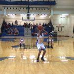 Girls Summer Basketball Practice