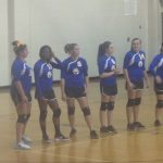 Whitmire High School Girls Varsity Volleyball falls to Dixie High School 0-3