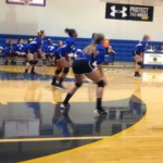 Whitmire High School Girls Varsity Volleyball falls to Union County Schools 1-2