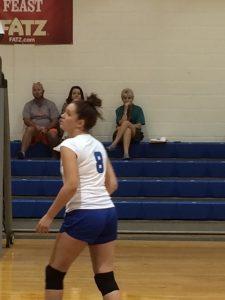 Volleyball Senior Night '16
