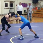 Wrestling Team Knocked Out of Team Playoffs