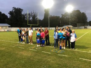Senior Night Football/Cheer