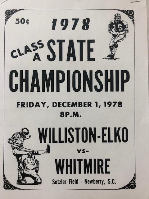 1978 State Champs to be Honored Friday