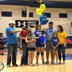 Voleyball Wins on Senior Night 2-1
