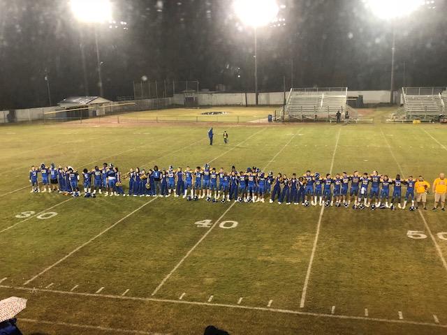 Varsity Football Wins 1st Round Game vs Estill, 35-3