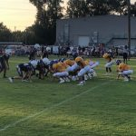 Varsity Football Opens Scrimmage Play
