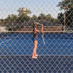 Girls Varsity Tennis Defeats Williston-Elko