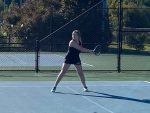 Martin Competes in State Singles Tournament