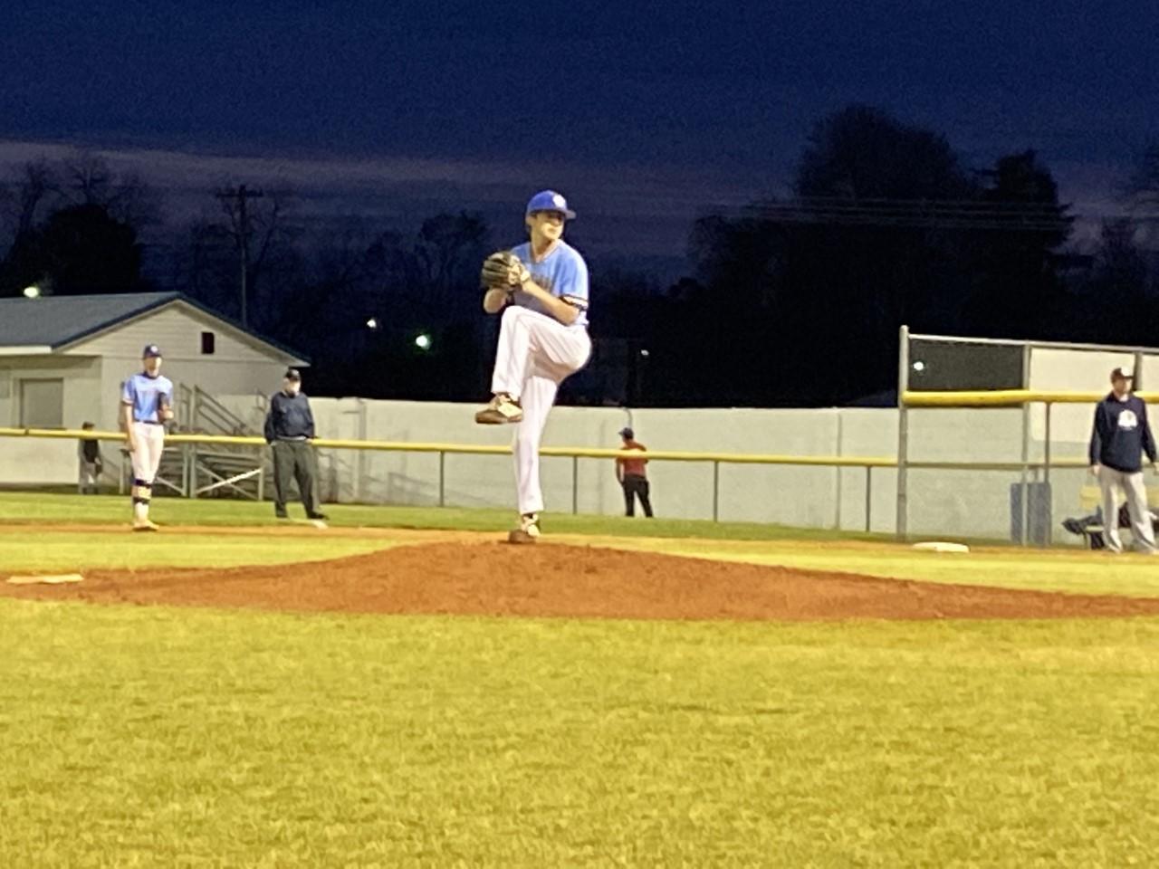 Varsity Baseball tops Southside Christian School 3 – 2