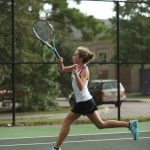 Lady Wildcat Tennis Victorious Against Charleston Math and Science