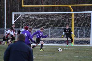 JV Boys Soccer Scrimmage 2/20/15