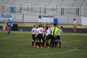 JV Soccer vs. Charleston Math and Science (2015)