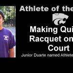 Athlete of the week: Junior Duarte