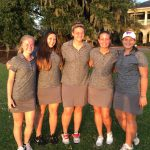 West Ashley High School Girls Varsity Golf finishes 4th