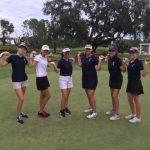 Freedom High School Girls Varsity Golf beat Celebration High School 189-267