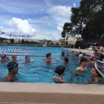 Freedom High School Girls Varsity Swimming beat Oak Ridge High School 133-38