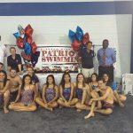Freedom High School Girls Varsity Swimming beat Maynard Evans High School 124-30