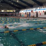 Freedom High School Girls Varsity Swimming falls to Olympia High School 138-32