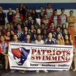 Freedom High School Girls Varsity Swimming finishes 3rd place