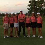 Freedom High School Girls Varsity Golf beat Dr. Phillips High School 148-215