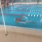 Freedom High School Girls Varsity Swimming beat Oak Ridge High School 134-15
