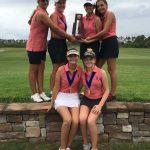 Freedom High School Girls Varsity Golf finishes 1st place
