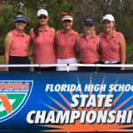 Freedom High School Girls Varsity Golf finishes 3rd place