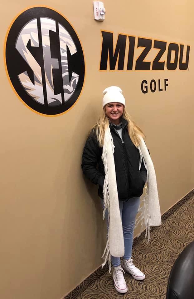 Golfer Emily Staples Commits to Mizzou