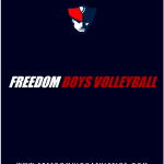 Freedom Boys Volleyball Stays Undefeated with 3-0 Win Over Lake Brantley