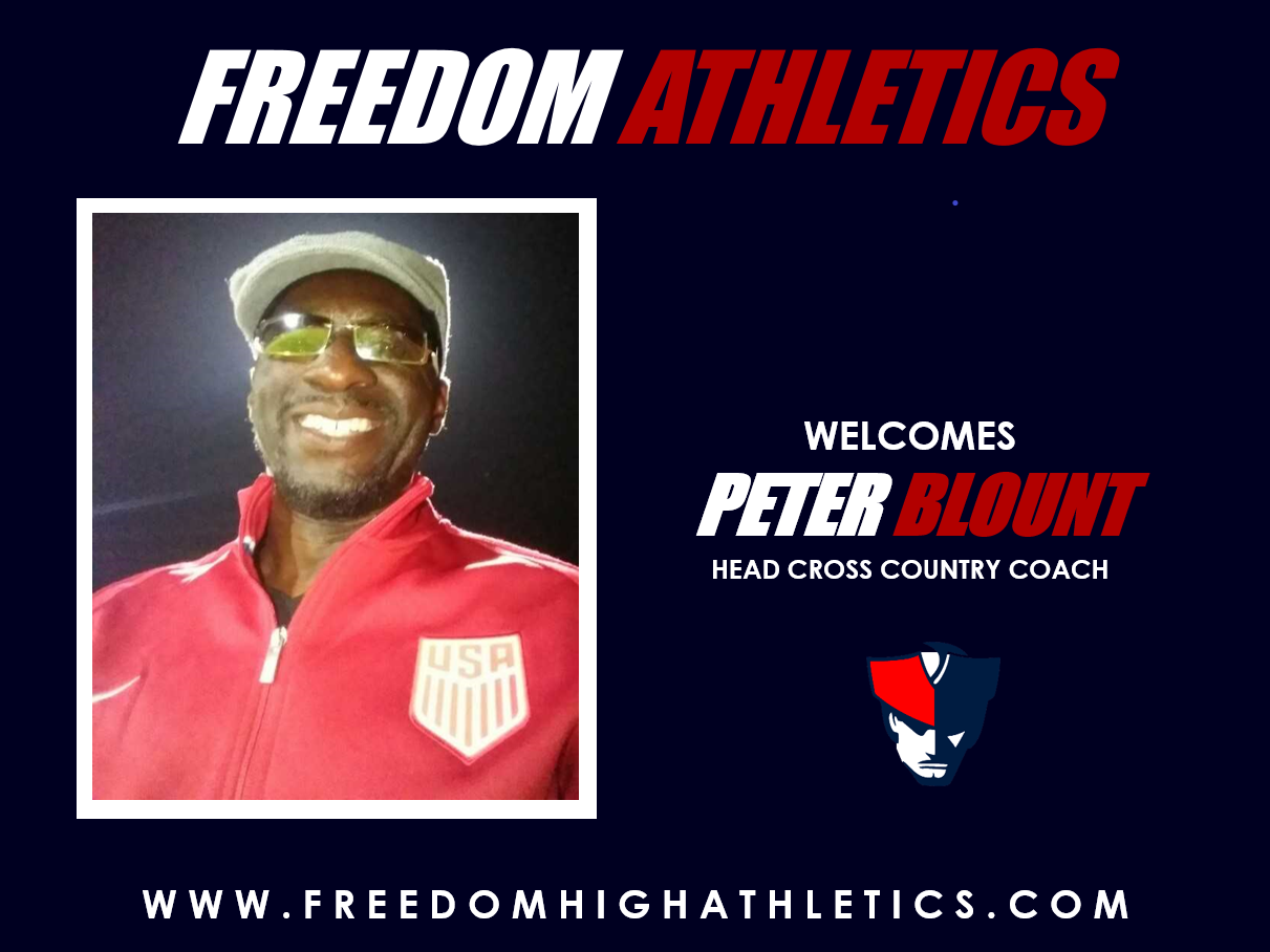 Freedom Athletics Welcomes New Cross Country Head Coach Peter Blount