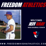 Freedom Athletics Welcomes New Head Baseball Coach Jeff Gray