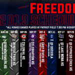 2019 Freedom Football Season Kicks Off Friday Night