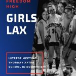 Girls Lacrosse Interest Meeting Tomorrow