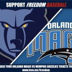 Support Freedom Baseball: Purchase Orlando Magic Tickets for just $25