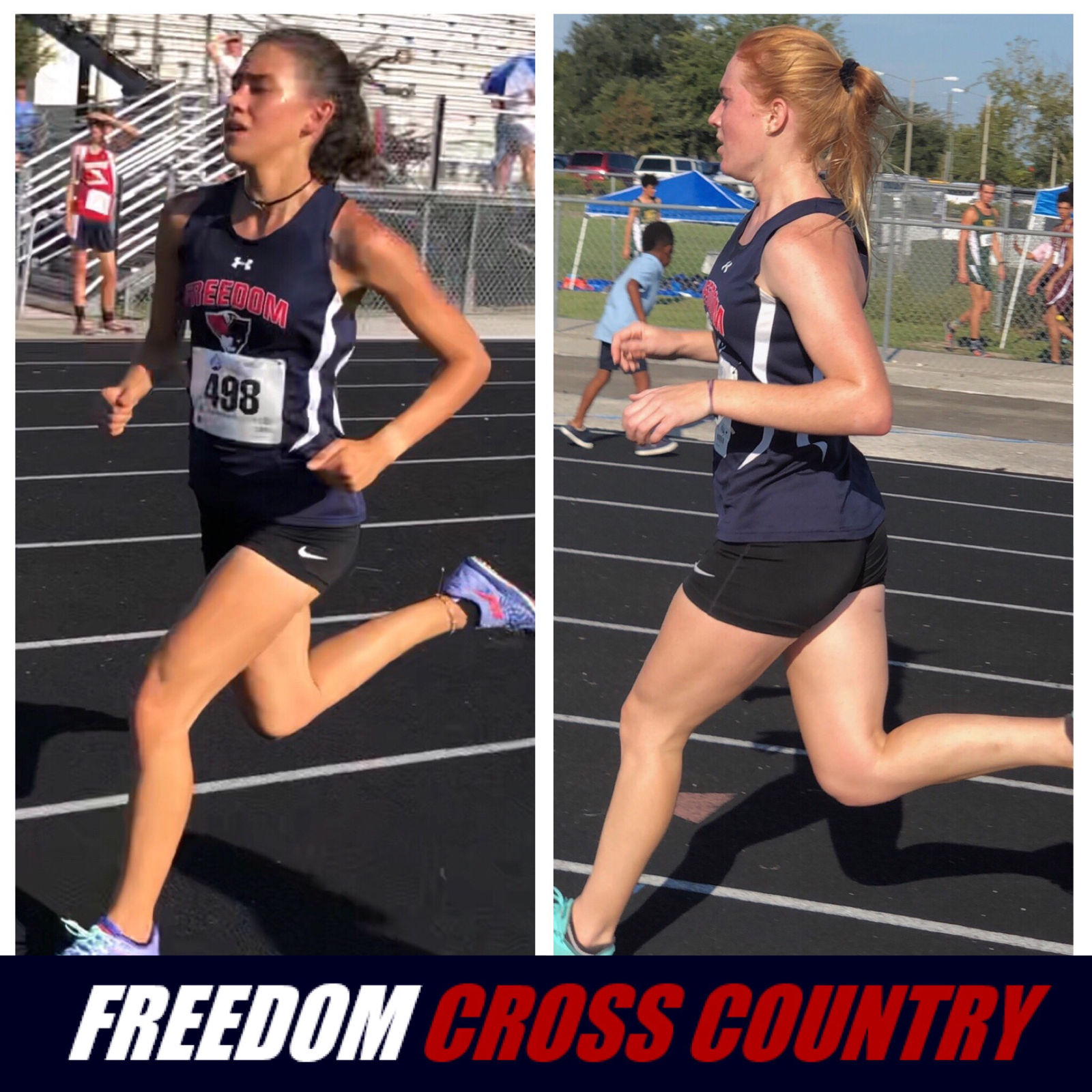 Girls Cross Country Finishes 1st Overall at Osceola