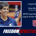 Coach McFerren Receives NFHS Nomination for Coach of the Year